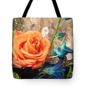 Floral Arrangement Tote Bag