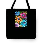 Floral Art - Big Flower Love - Sharon Cummings Tote Bag