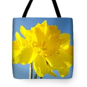 Floral Art Bright Yellow Daffodil Flowers Baslee Troutman Tote Bag