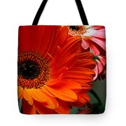 Floral Art Tote Bag