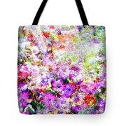 Floral Art Clvi Tote Bag