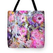 Floral Art Clviii Tote Bag