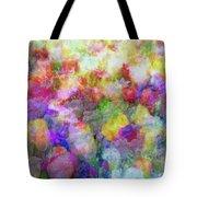 Floral Art Cxi Tote Bag