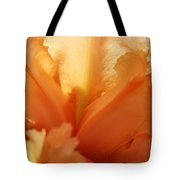 Floral Art Orange Iris Flower Sunlit Baslee Troutman Tote Bag