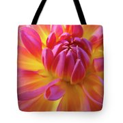 Floral Art Prints Dahlia Flower Giclee Artwork Baslee Troutman Tote Bag