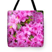 Floral Art Prints Pink Azalea Garden Landscape Baslee Troutman Tote Bag