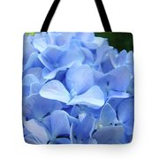 Floral Artwork Blue Hydrangea Flowers Baslee Troutman Tote Bag