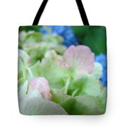 Floral Artwork Hydrangea Flowers Soft Nature Giclee Baslee Troutman Tote Bag