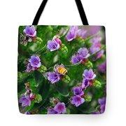 Floral Beehive Tote Bag