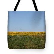 Floral Blur Tote Bag