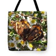 Floral Buckeye Tote Bag