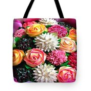 Floral Buffet Tote Bag