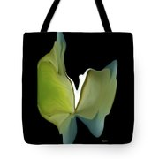 Floral Butterfly Tote Bag