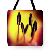 Floral Candle Tote Bag