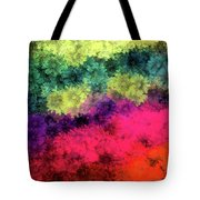 Floral Decay Tote Bag
