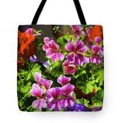 Floral Design 5 Dark Tote Bag