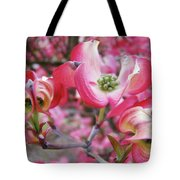 Floral Dogwood Tree Flowers Baslee Troutman Tote Bag