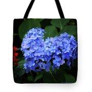 Floral Duet Tote Bag
