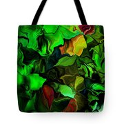 Floral Expression 080616 Tote Bag