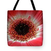Floral Eye Tote Bag