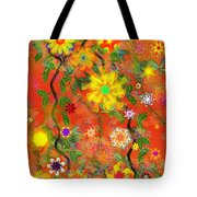 Floral Fantasy 122110 Tote Bag