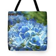 Floral Fine Art Blue Hydrangeas Baslee Troutman Tote Bag
