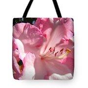 Floral Fine Art Prints Pink Rhodie Flower Baslee Troutman Tote Bag