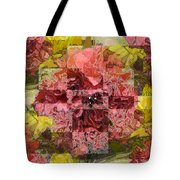 Floral Flux Tote Bag