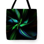 Floral Fractal 040710 Tote Bag