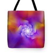 Floral Fractal 052210 Tote Bag
