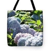 Floral Garden Art Prints Blud Hydrangea Flowers Tote Bag