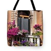Floral Garden Tote Bag