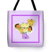Floral Happiness Tote Bag