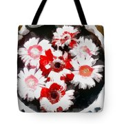 Floral Hotty Totty Tote Bag