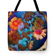 Floral Hotty Totty Differs Tote Bag