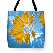 Floral Impression Tote Bag
