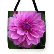 Floral In Pink Tote Bag