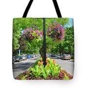 Floral Island Tote Bag