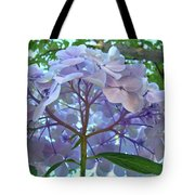Floral Landscape Blue Hydrangea Flowers Baslee Troutman Tote Bag