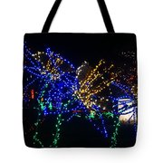 Floral Lights Tote Bag