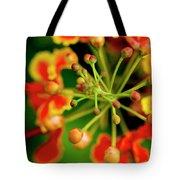 Floral Macro Tote Bag