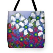 Floral Madness 2 Tote Bag