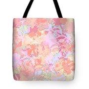 Floral Menagerie Tote Bag