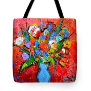 Floral Miniature - Abstract 0115 Tote Bag