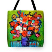 Floral Miniature - Abstract 0315 Tote Bag