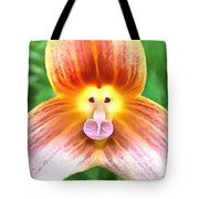 Floral Monkey Pink Yellow And Red Tote Bag
