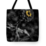 Floral October Zinnia End Of Season Sc 02 Vertical Tote Bag