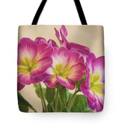 Floral Oil Painting Tote Bag