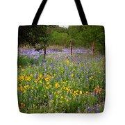 Floral Pasture No. 2 Tote Bag