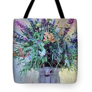 Floral  Piece Tote Bag